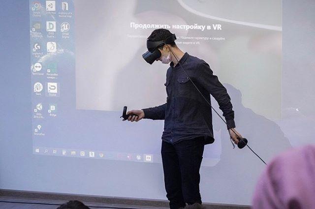 На площадке Хайпарка ГГНТУ состоялся Хакатон для программистов в области VR и AR